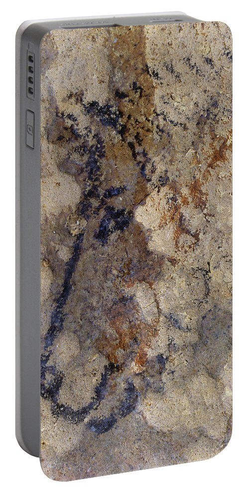 10 Portable Battery Charger featuring the photograph Cave Art: Horse by Granger