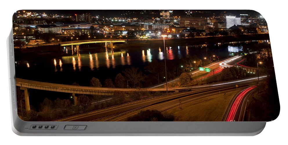 Charleston Portable Battery Charger featuring the photograph Charleston - West Virginia by Anthony Totah