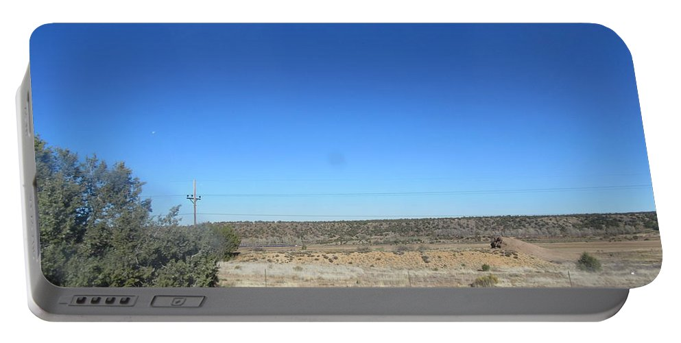 Desert Portable Battery Charger featuring the photograph Desert Landscape by Frederick Holiday