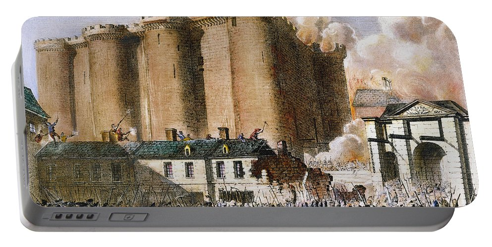 1789 Portable Battery Charger featuring the photograph French Revolution, 1789 by Granger