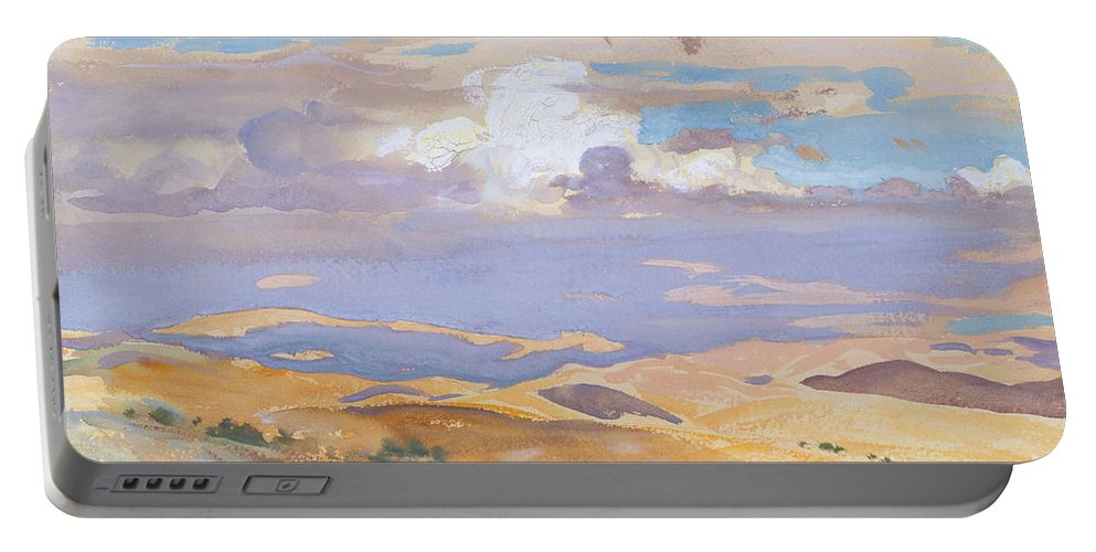 John Singer Sargent Portable Battery Charger featuring the painting From Jerusalem by John Singer Sargent