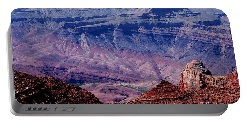 Grand Canyon Portable Battery Charger featuring the photograph Grand Canyon View by Susanne Van Hulst