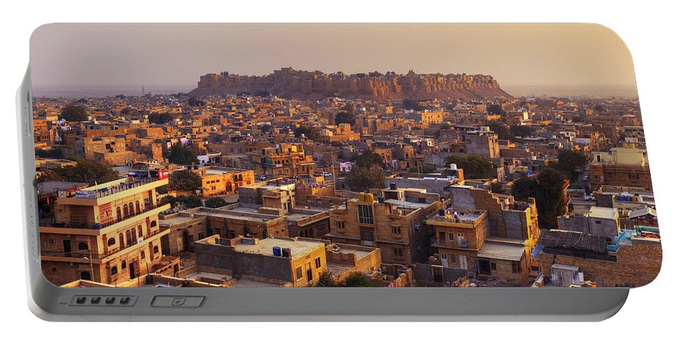 Jaisalmer Portable Battery Charger featuring the photograph Jaisalmer - India by Joana Kruse