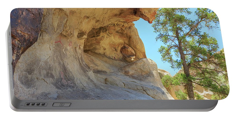 Joshua Tree National Park Portable Battery Charger featuring the photograph Landscape In Joshua Tree National Park by Chon Kit Leong