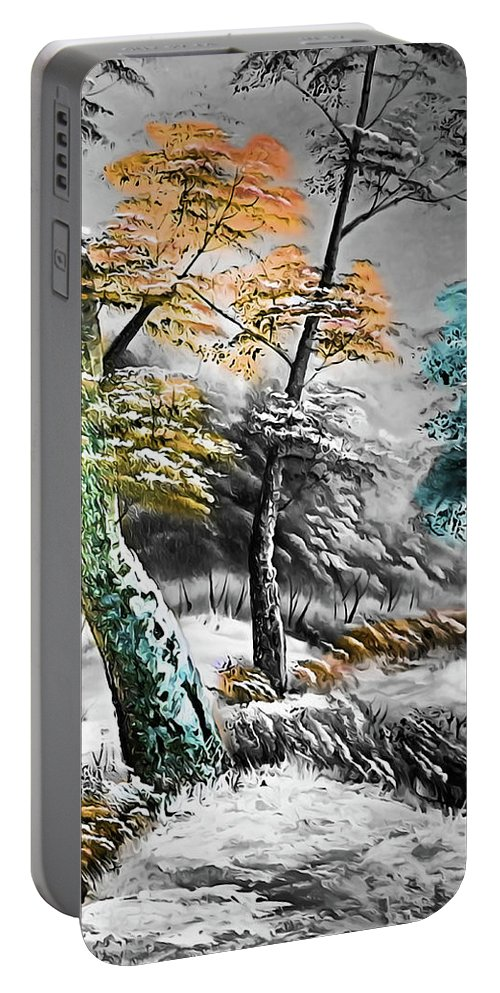 Nature Portable Battery Charger featuring the photograph Nature Colors by Munir Alawi