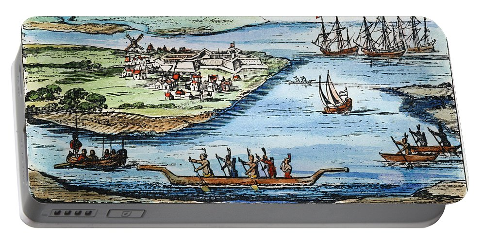 1651 Portable Battery Charger featuring the photograph New Amsterdam by Granger