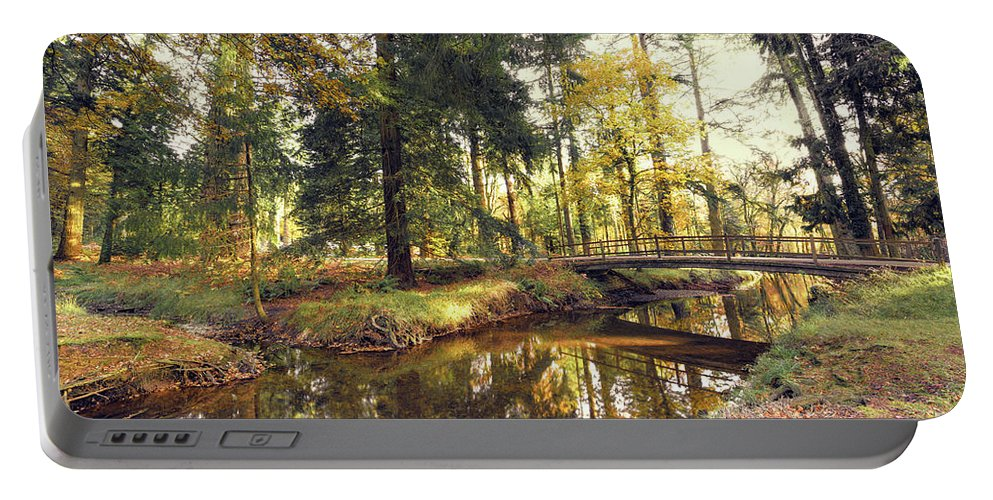 Svetlana Sewell Portable Battery Charger featuring the photograph River by Svetlana Sewell
