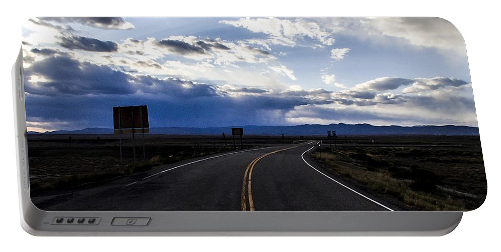 Pocket Camera Portable Battery Charger featuring the photograph Road 2 by Angus Hooper Iii