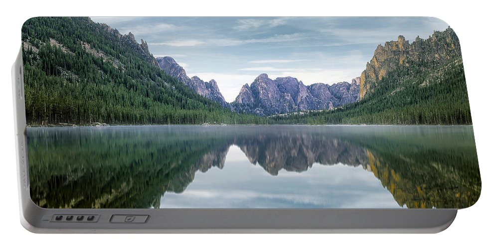 Beautiful Portable Battery Charger featuring the photograph Ship Island Lake by Leland D Howard