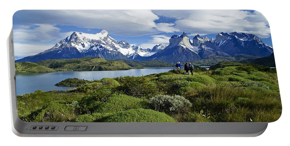 Patagonia Portable Battery Charger featuring the photograph Springtime In Patagonia by Michele Burgess