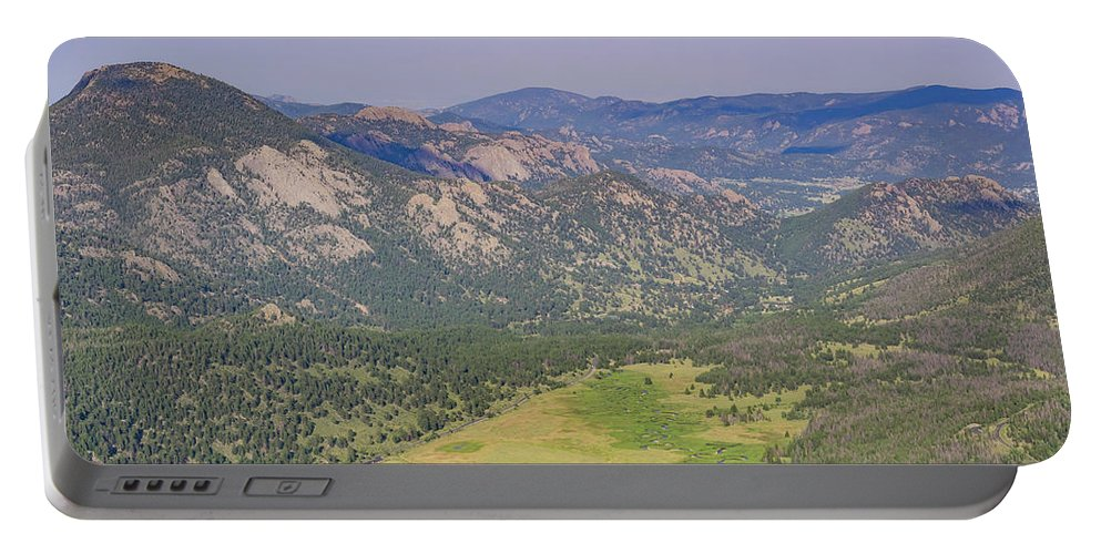 Colorado Portable Battery Charger featuring the photograph Superb Landscape In Rocky Mountain National Park by Chon Kit Leong