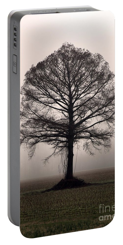Trees Portable Battery Charger featuring the photograph The Tree by Amanda Barcon