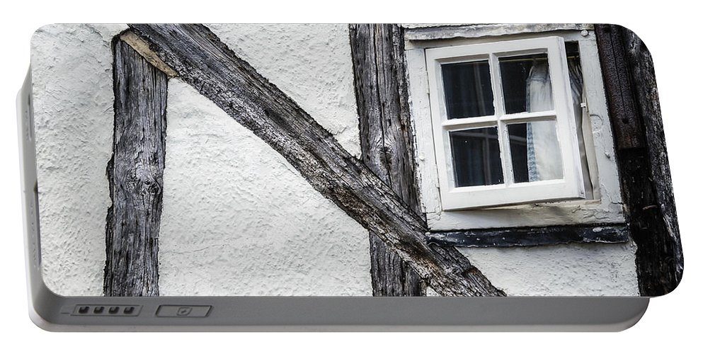 House Portable Battery Charger featuring the photograph Tudor House by Joana Kruse