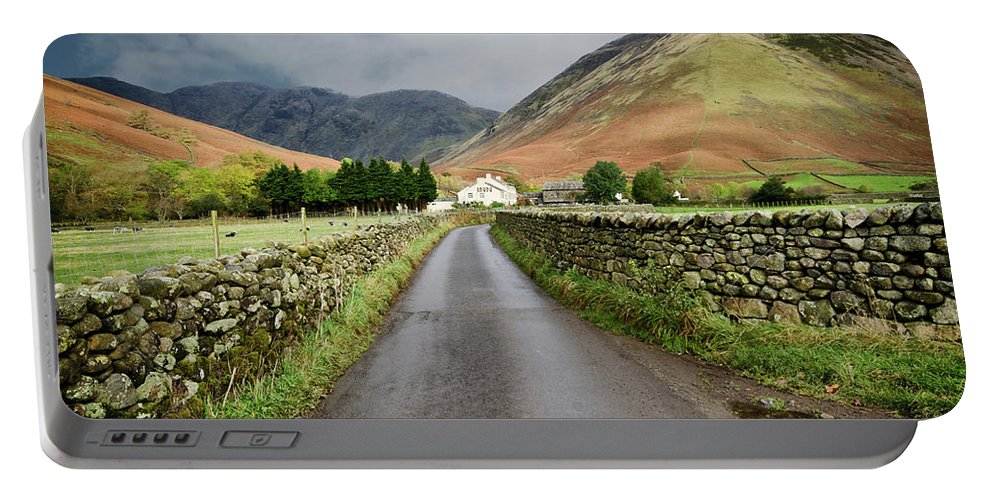 Wasdale Head Portable Battery Charger featuring the photograph Wasdale Head by Smart Aviation