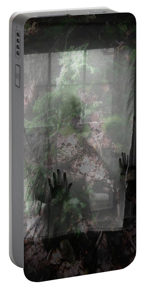 Nudes Portable Battery Charger featuring the photograph Window Wonder by Trish Hale