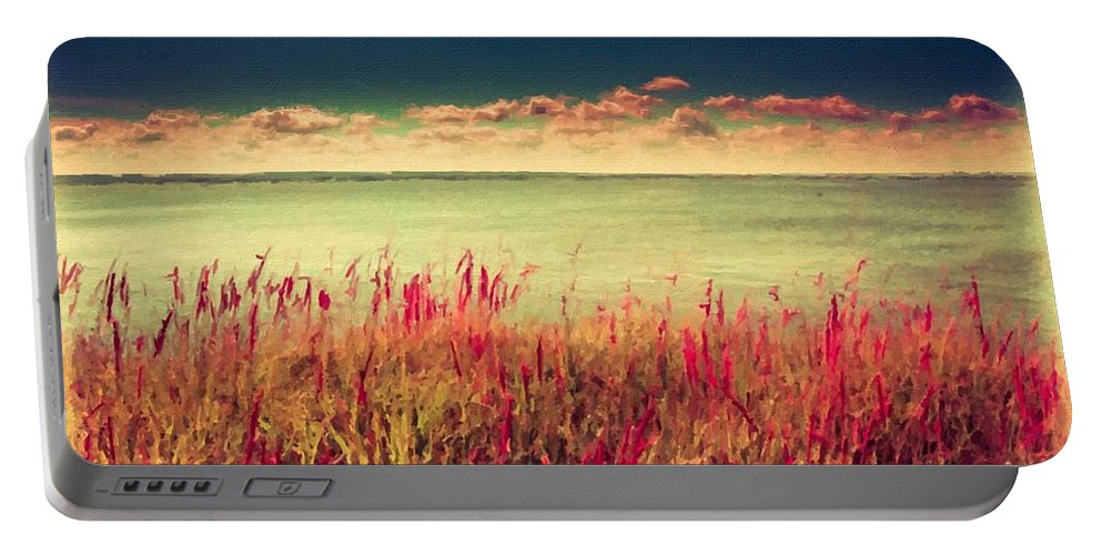 Landscape Portable Battery Charger featuring the digital art Great Landscape by Malinda Spaulding