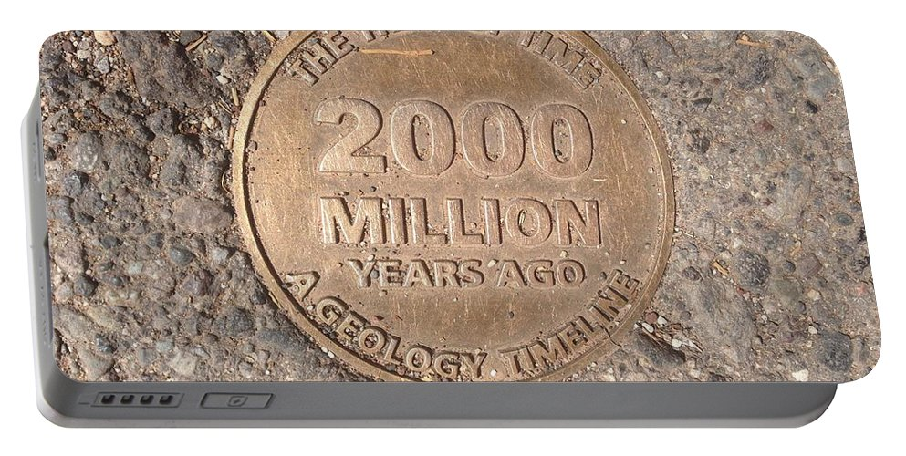 Arizona Portable Battery Charger featuring the photograph 2000 Million Years Ago by Bibi Robers