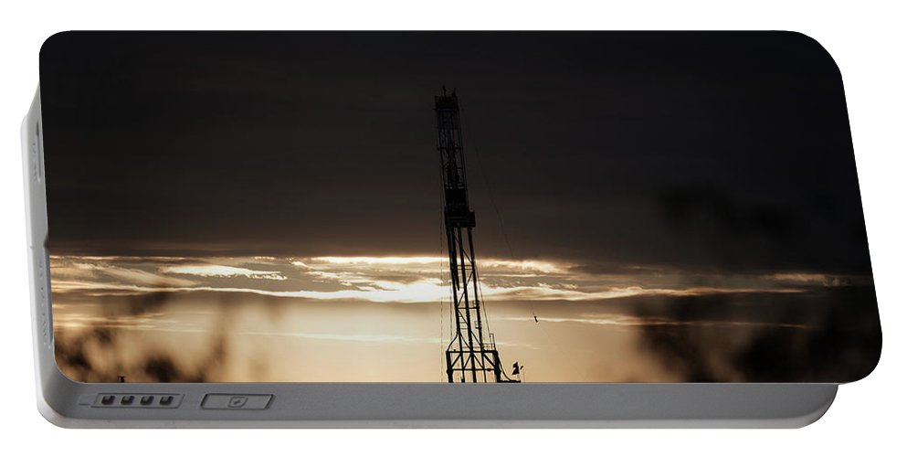 Drillers Club Portable Battery Charger featuring the photograph 2018_02_pecos Tx_cactus 153 6 by Brian Farmer