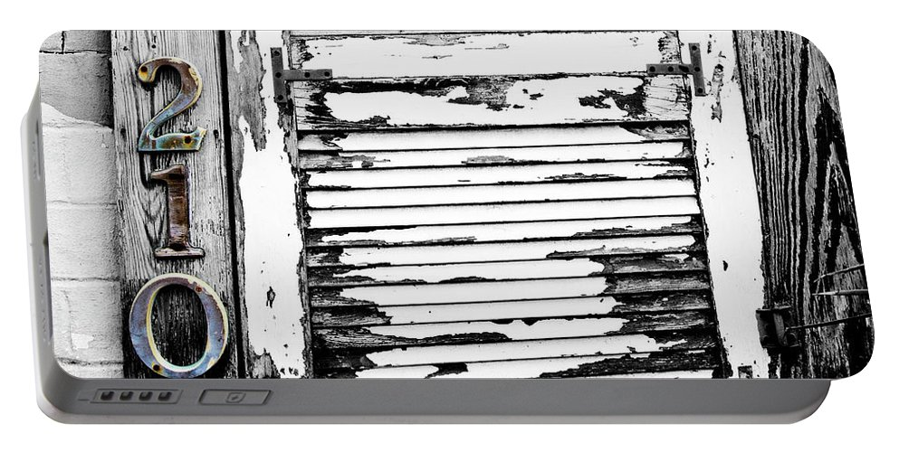 Doorway Portable Battery Charger featuring the photograph 2105 by Scott Pellegrin