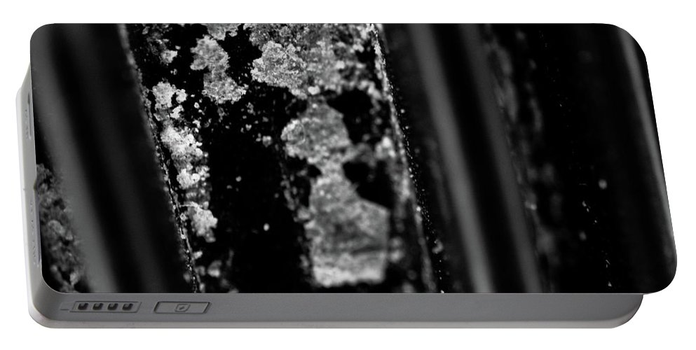 Macro Portable Battery Charger featuring the photograph Macro Of Everyday Object by Diane Schuler
