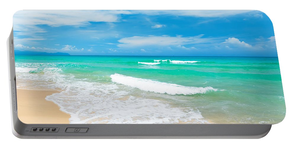 Beach Portable Battery Charger featuring the photograph Beach 23 by MotHaiBaPhoto Prints