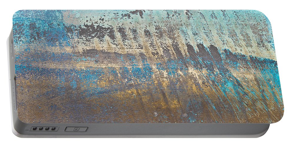 Abandoned Portable Battery Charger featuring the photograph Metal Background by Tom Gowanlock