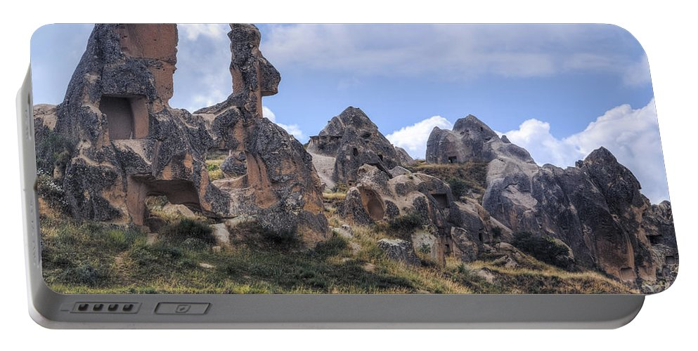 Goereme Portable Battery Charger featuring the photograph Cappadocia - Turkey by Joana Kruse