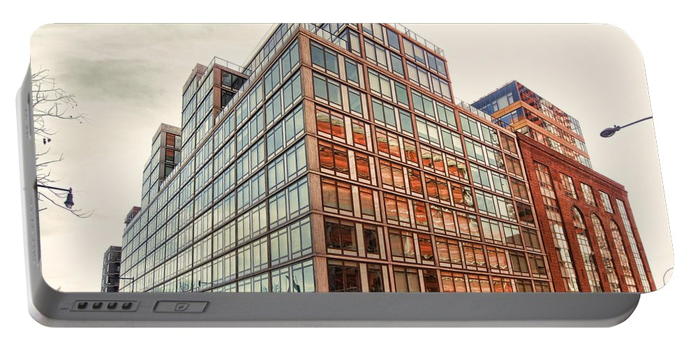 Portable Battery Charger featuring the photograph 2nd St Lic 5 by Steve Sahm