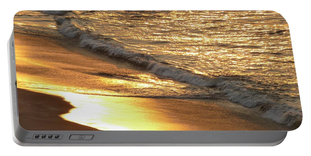 Photography Portable Battery Charger featuring the photograph Sunrise In Coronado Bay by Aline Halle-Gilbert