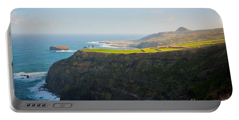 Azores Portable Battery Charger featuring the photograph Azores coastal landscape by Gaspar Avila