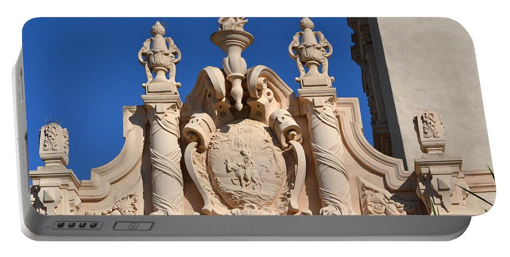 Portable Battery Charger featuring the photograph Balboa Park, San Diego by Dean Ferreira