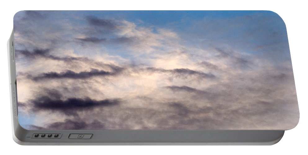 Clay Portable Battery Charger featuring the photograph Clouds by Clayton Bruster