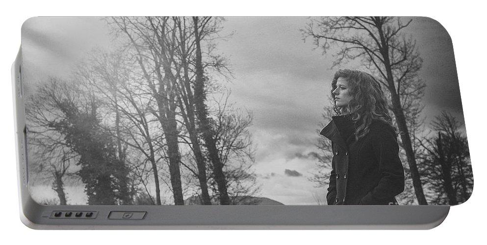 Portrait Portable Battery Charger featuring the photograph Des Poussieres De Toi by Traven Milovich