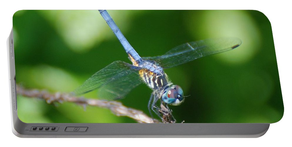 Dragonfly Portable Battery Charger featuring the photograph Dragon Fly by Rob Hans
