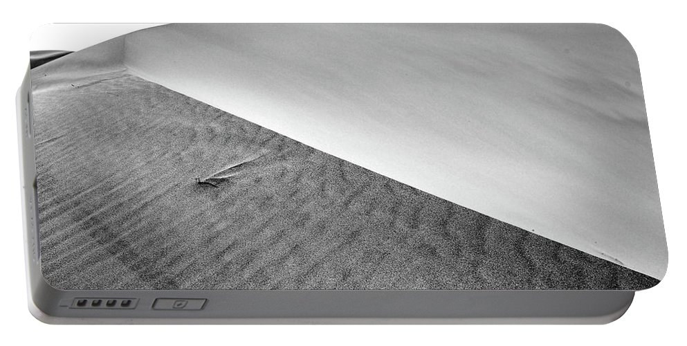 Air Portable Battery Charger featuring the photograph Magnificent Sandy Waves On Dunes At Sunny Day by Oleg Yermolov