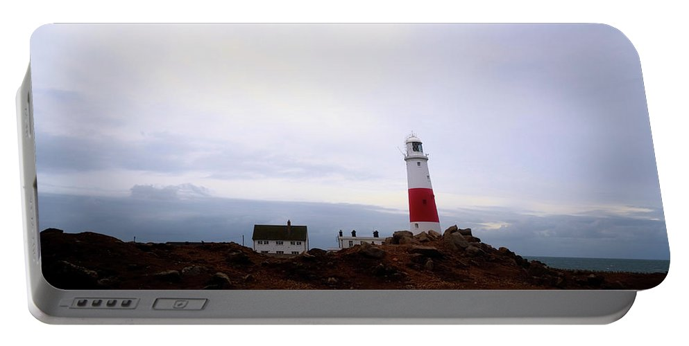 Portland Bill Lighthouse Portable Battery Charger featuring the photograph Portland Bill - England by Joana Kruse