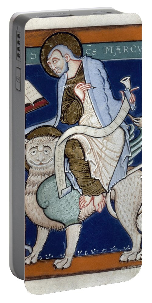 1130 Portable Battery Charger featuring the painting Saint Mark by Granger