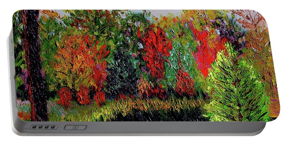 Plein Air Portable Battery Charger featuring the painting Sewp 10 10 by Stan Hamilton
