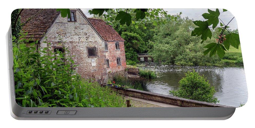 Sturminster Newton Mill Portable Battery Charger featuring the photograph Sturminster Newton Mill - England by Joana Kruse