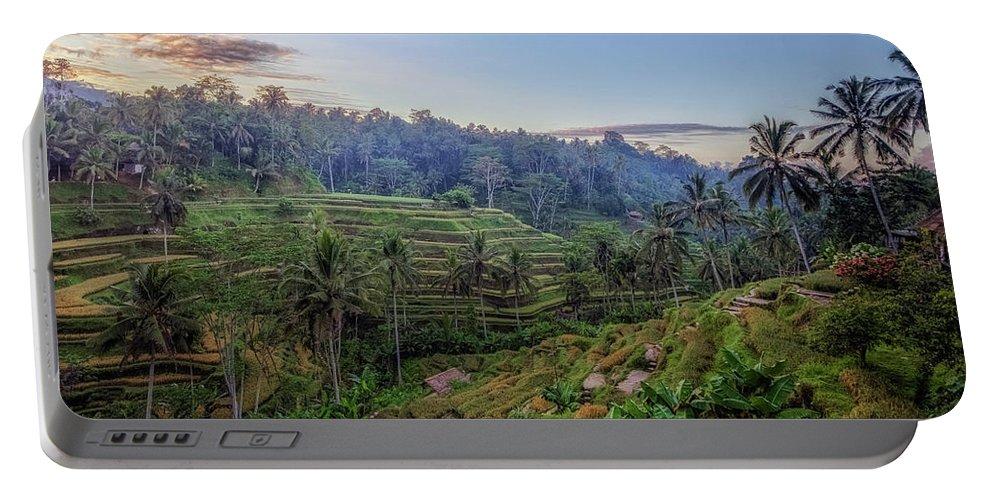 Tegalalang Portable Battery Charger featuring the photograph Tegalalang - Bali by Joana Kruse