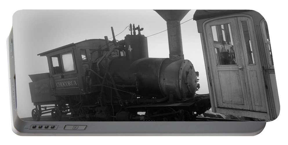 Train Portable Battery Charger featuring the photograph Train by Sebastian Musial