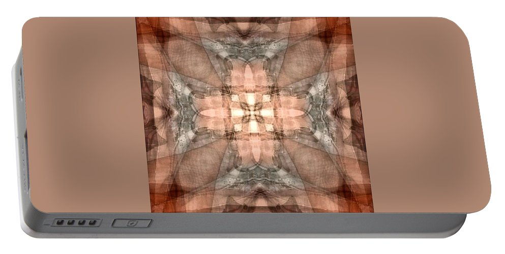 Desertcoyote Portable Battery Charger featuring the digital art T1 by Randy Nile