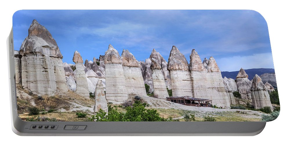 Love Valley Portable Battery Charger featuring the photograph Cappadocia - Turkey by Joana Kruse