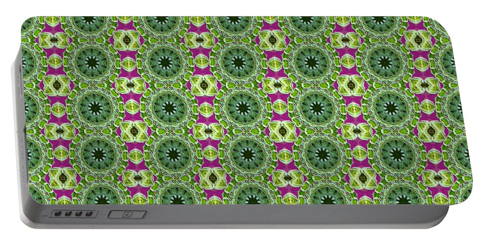 Circles Portable Battery Charger featuring the photograph Abstract Series by Sherman Perry