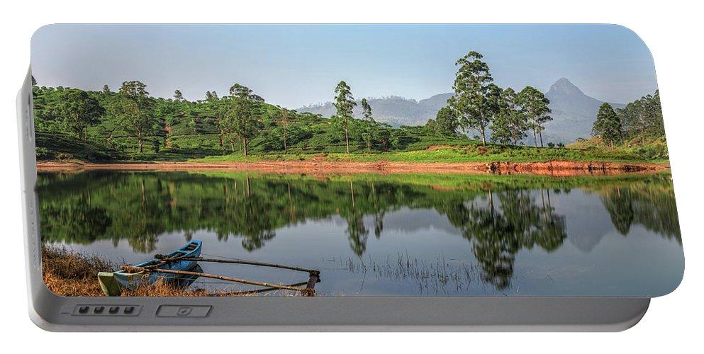 Adam's Peak Portable Battery Charger featuring the photograph Adam's Peak - Sri Lanka by Joana Kruse