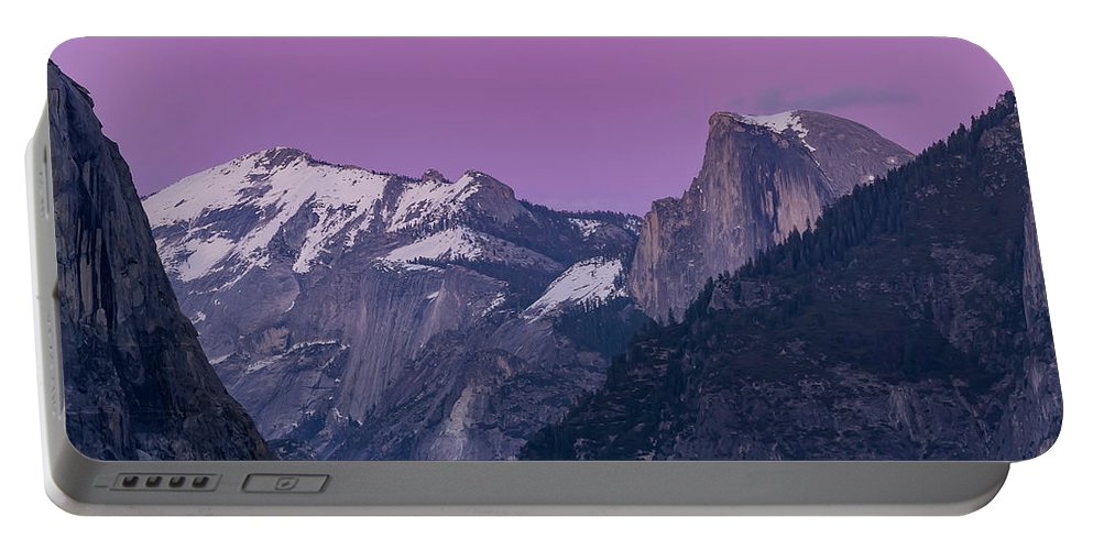 Nps Portable Battery Charger featuring the photograph Beauty Of Yosemite by Chon Kit Leong