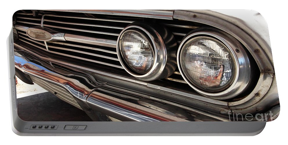 Cars Portable Battery Charger featuring the photograph Biscayne by Amanda Barcon