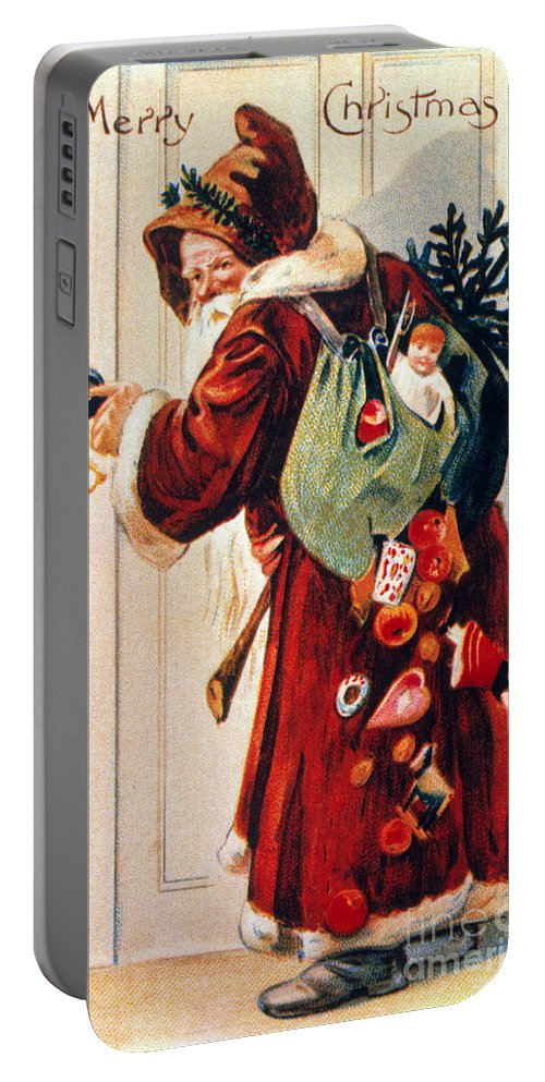 19th Century Portable Battery Charger featuring the photograph Christmas Card by Granger