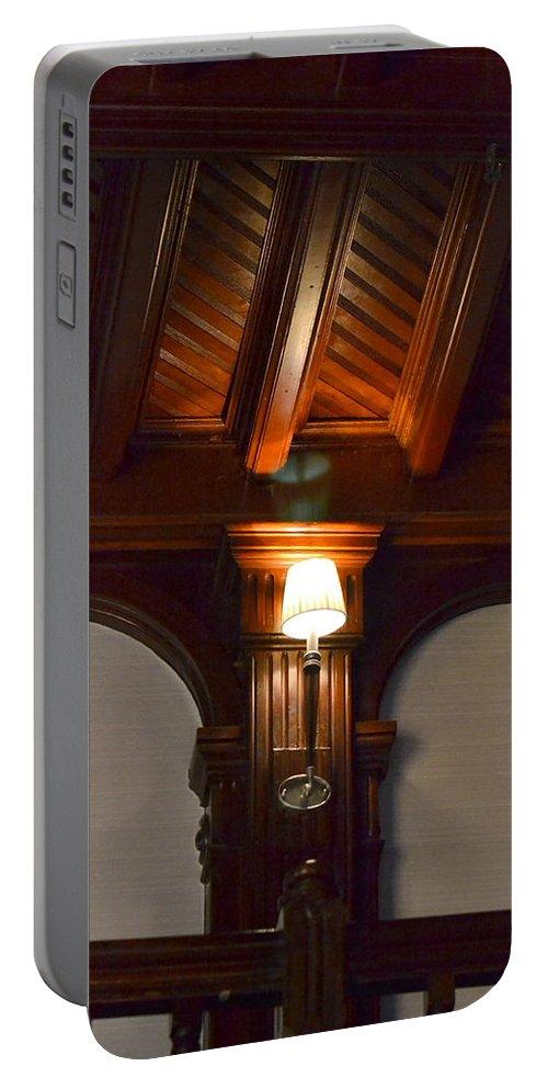 Portable Battery Charger featuring the photograph Hotel Coronado by Dean Ferreira