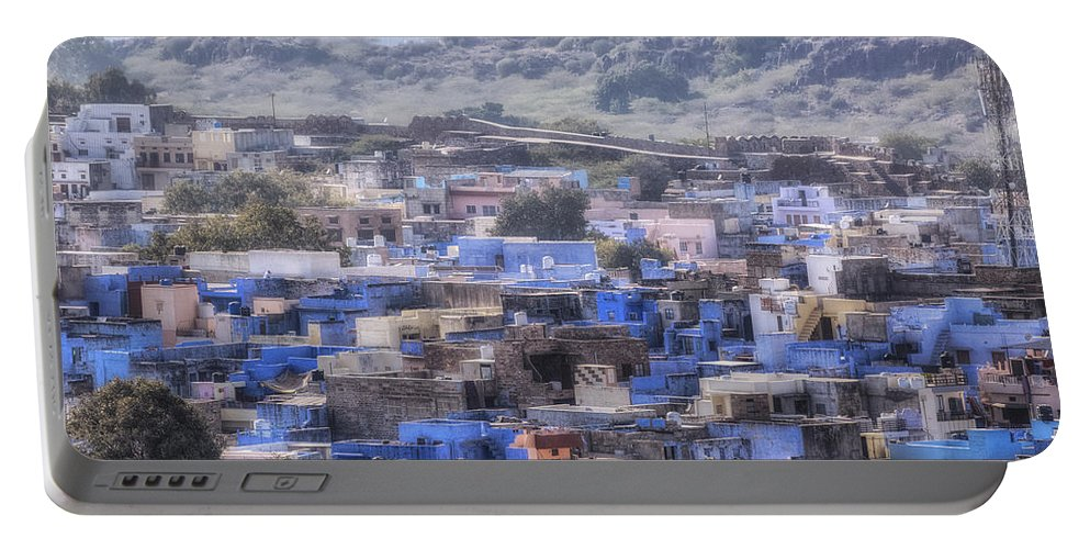 Jodhpur Portable Battery Charger featuring the photograph Jodhpur - India by Joana Kruse